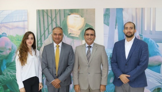 The Association of Credit Companies held a meeting with the Director of the World Bank, Mr. Kanthan Shankar, to discuss the situation of the microfinance sector in Palestine