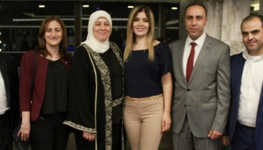Dr. Laila Ghannam honors Vitas Company for its role in supporting the community
